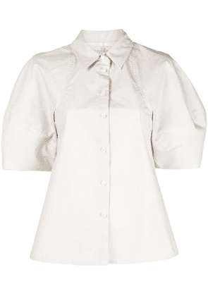 Co balloon sleeves blouse - White
