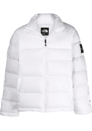 The North Face high-neck puffer jacket - White