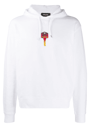 Dsquared2 Sweat Street Style hoodie - White