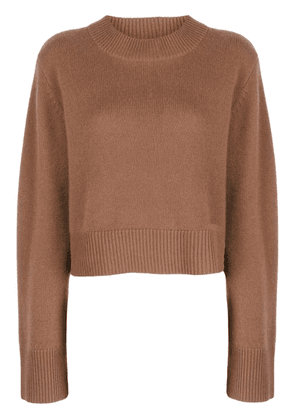Co oversized cashmere jumper - Brown