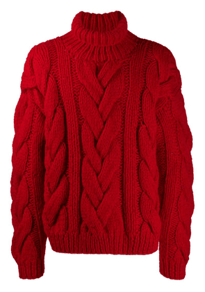 Dsquared2 oversized roll-neck sweater