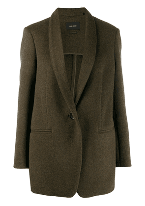 Isabel Marant classic tailored blazer - Green