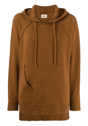 Each X Other deconstructed hoodie - Brown