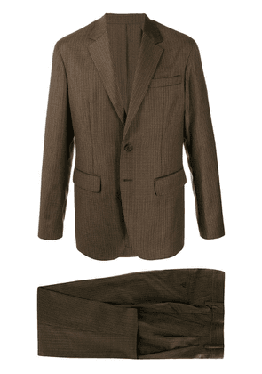 Dsquared2 checked formal suit - Brown