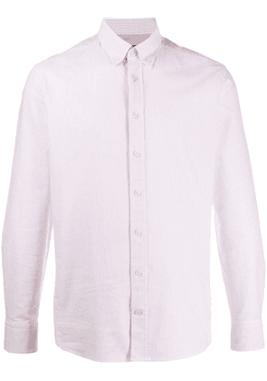 Hackett slim-fit striped shirt - Pink