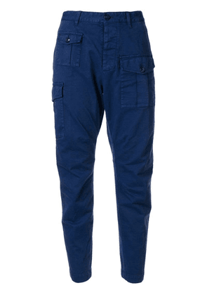 Dsquared2 tapered utility trousers - Blue