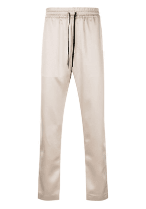 Cmmn Swdn beige track pants - Neutrals