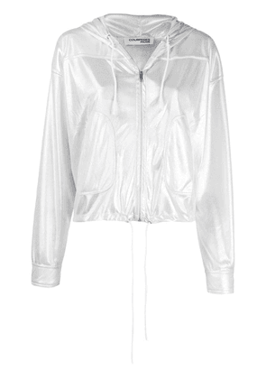 Courrèges zipped-up jacket - Silver