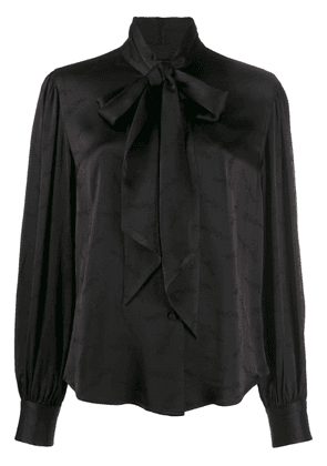 Marc Jacobs pussy bow blouse - Black