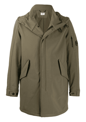 CP Company concealed front jacket - Green
