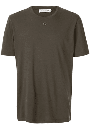 Craig Green embroidered hole detail T-shirt