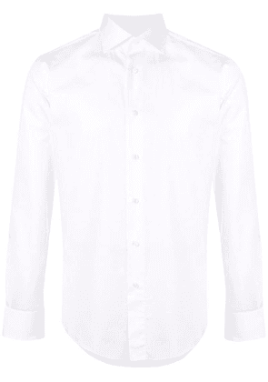 Brioni pointed collar shirt - White