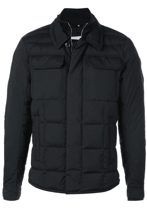 Moncler padded double-collar jacket - Black