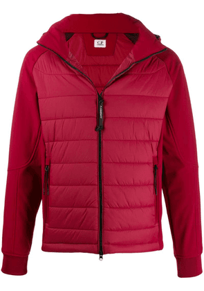 CP Company zipped padded jacket - Red