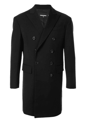 Dsquared2 double-breasted coat - Black