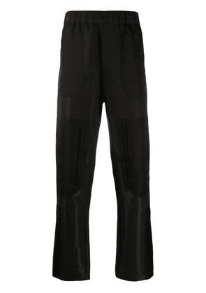 Fendi relaxed-fit jogging trousers - Brown