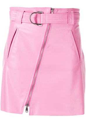 Pinko belted A-line skirt