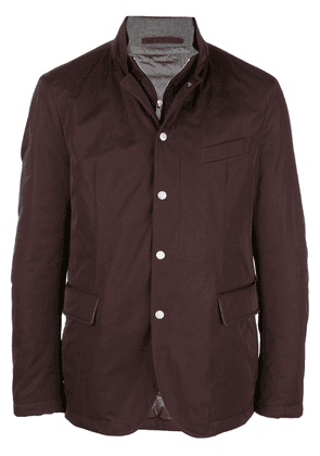 Eleventy layered light jacket - Brown