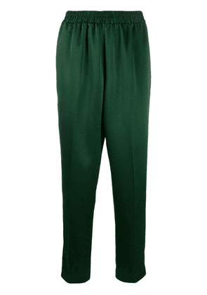 Gianluca Capannolo cropped textured trousers - Green