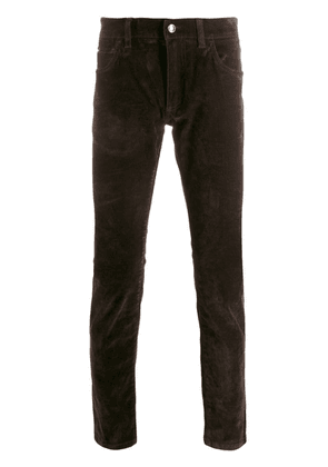 Dolce & Gabbana slim-fit trousers - Brown