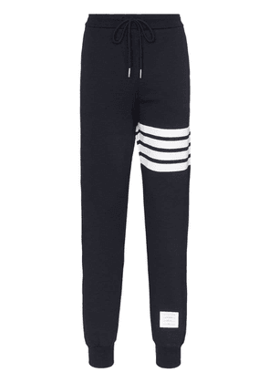 Thom Browne 4-Bar print track pants - Blue