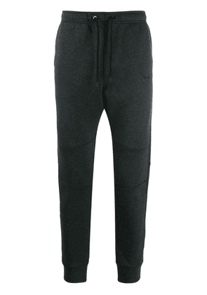 Fendi panelled tapered track trousers - Grey