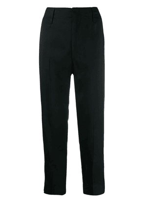 Forte Forte slim-fit tailored trousers - Black
