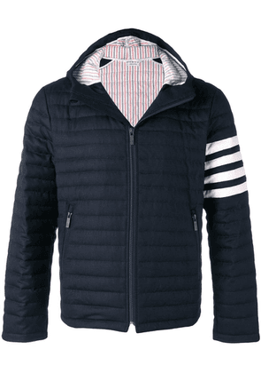Thom Browne 4-bar Quilted Down Jacket - Blue