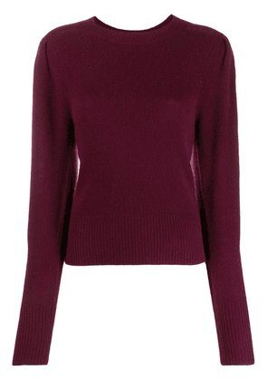 Isabel Marant slim fit jumper - Purple