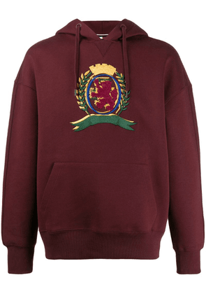 Tommy Hilfiger embroidered crest hooded sweater