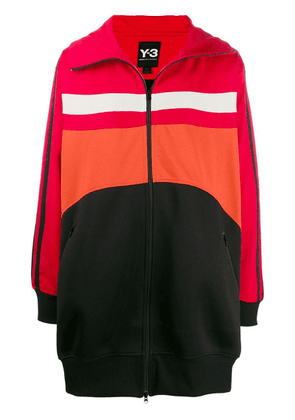 Y-3 oversized sports jacket - Red