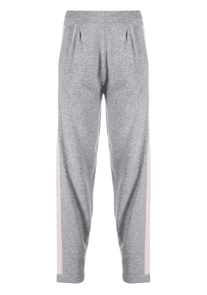 D.Exterior micro-beaded trackpants - Grey