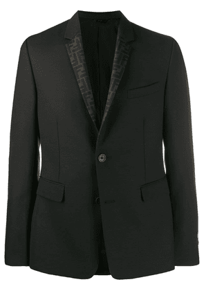 Fendi reversible FF blazer - Black