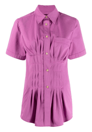 Isabel Marant cinched pleated blouse - Pink