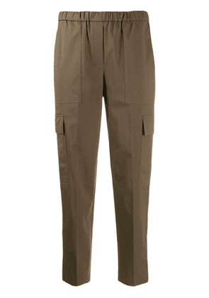 Theory mid rise cargo chinos - Green