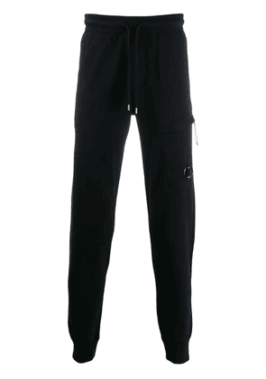 CP Company drawstring waist trousers - Black