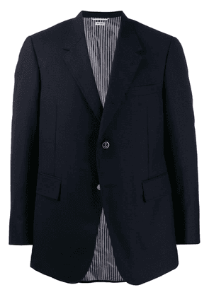 Thom Browne classic single-breasted blazer - Blue