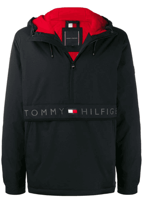 Tommy Hilfiger classic hooded anorak - Black