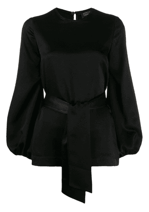 Gianluca Capannolo belted blouse - Black
