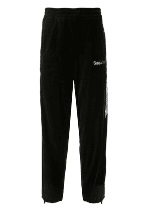 Doublet contrast track trousers - Black