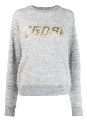 Golden Goose printed logo sweatshirt - Grey