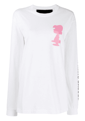 Marc Jacobs Snoopy print sweater - White
