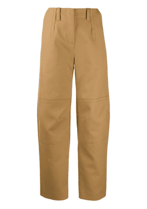 Courrèges Utility trousers - Neutrals