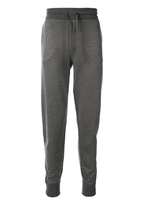 Brioni drawstring track trousers - Grey