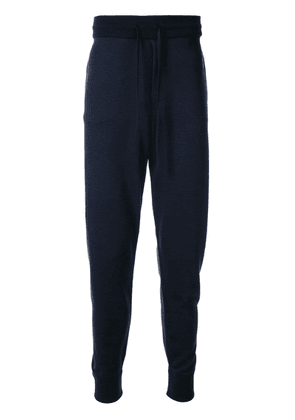 Brioni drawstring track trousers - Blue