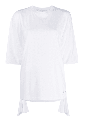 Golden Goose printed logo oversized T-shirt - White
