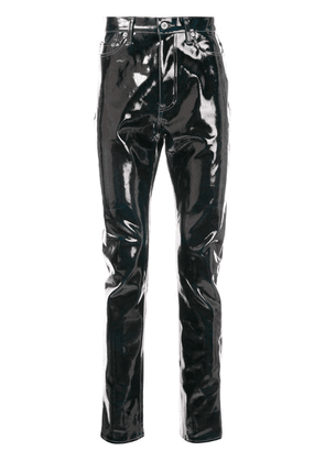 Doublet varnished effect trousers - Blue