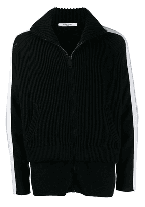 Givenchy ribbed fleece jacket - Black