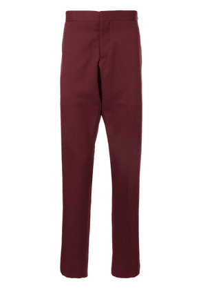 Thom Browne RWB stripe detail slim-fit trousers - Red