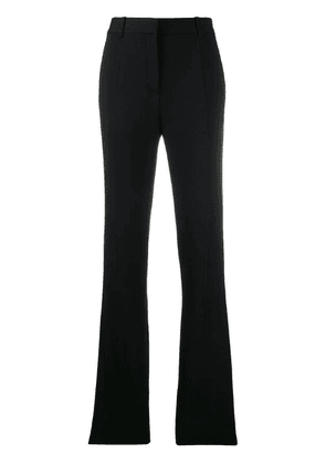 Victoria Beckham flared tailored trousers - Black